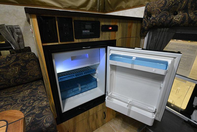 Phoenix Mini Max Kitchen Refrigerator Open