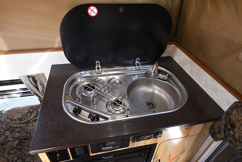 Phoenix Mini Max Kitchen Stove Top Open