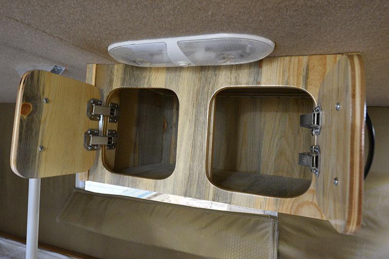 Phoenix Mini Max Upper Cabinetry Open