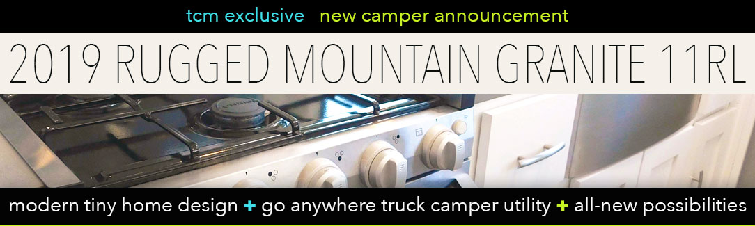 Rugged Mountain Granite 11RL Truck Camper