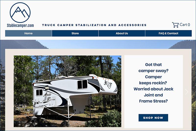Stable Camper Website