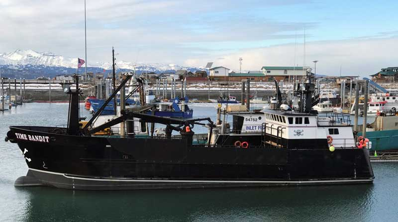 Time Bandit From The Deadliest Catch TV Series Homer