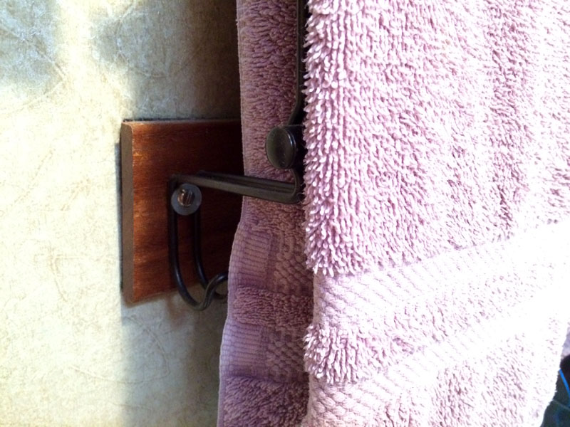 Towel Rack Attachments