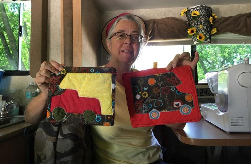 Truck Camper Potholders