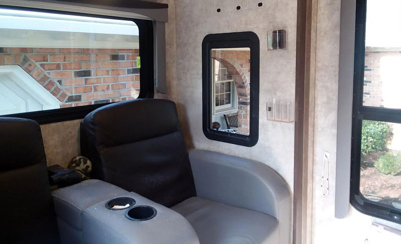 Window To Back Wall Of Camper Added