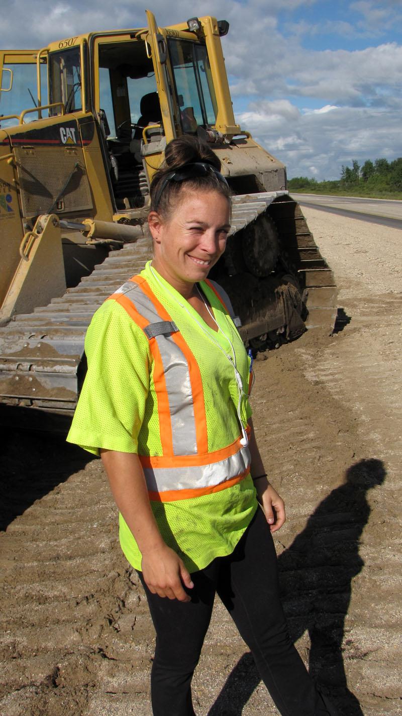 Daughter Canada Highway1