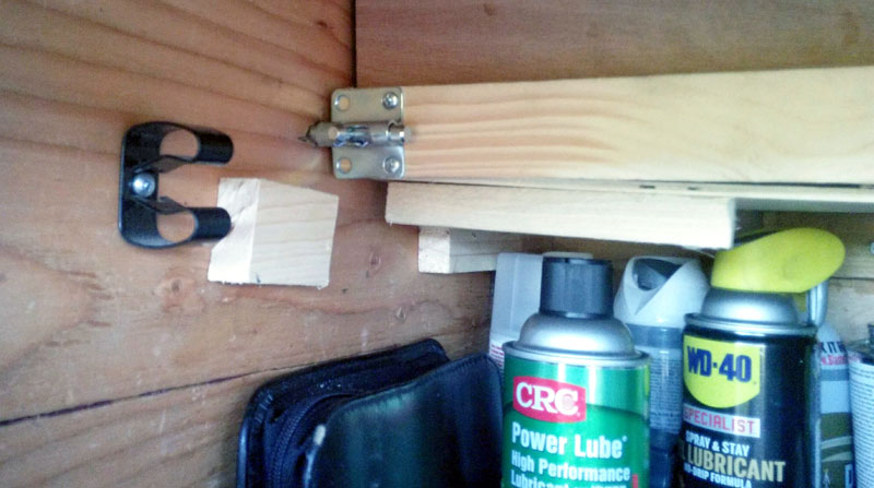 Hasp For Storage Shelves