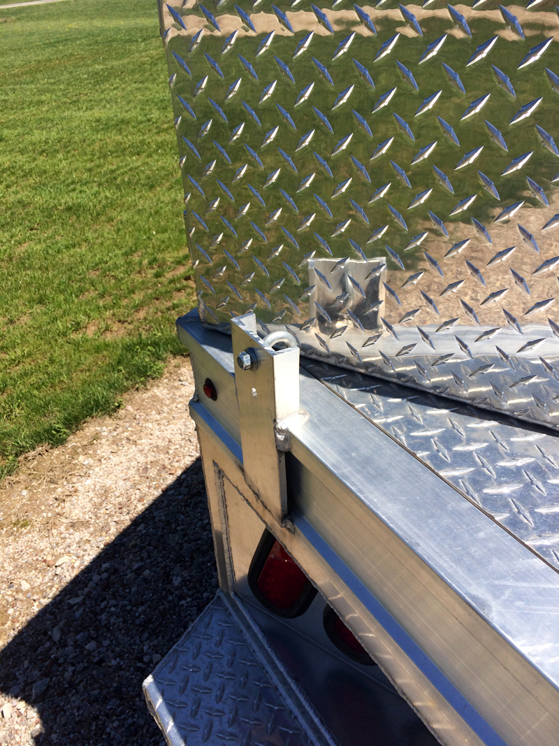 Tie Down Points For Camper On Flatbed Truck