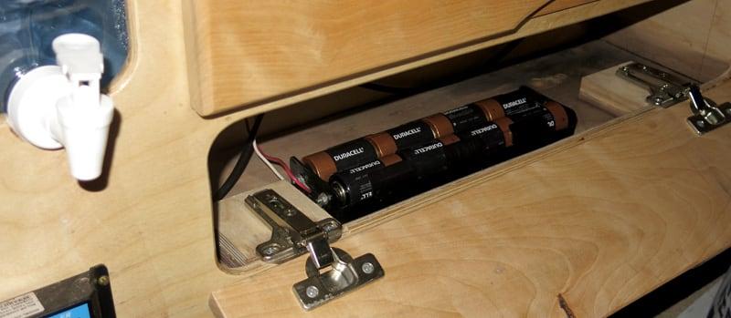 Battery Pack For LED Lights Gentry