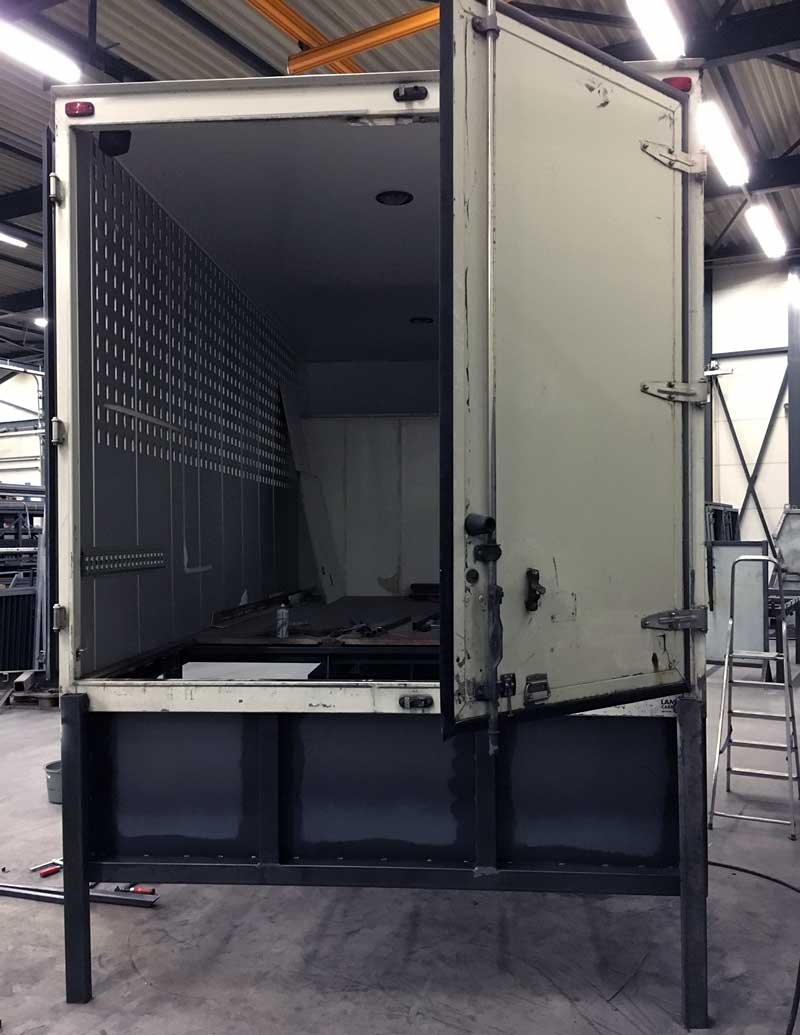 Box Truck To Camper Transition