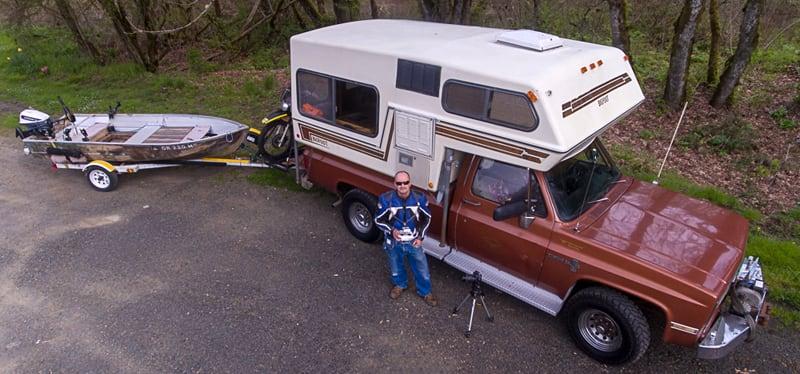 David Taylor Bigfoot Camper