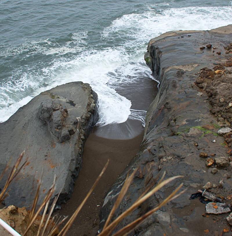 Depoe Bay Storm Damage