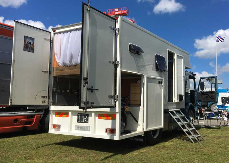 Doors Opened Up On Scania Camper