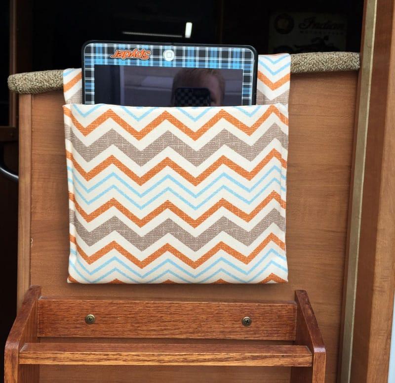 IPad Pocket Back Dinette Seat Hanging