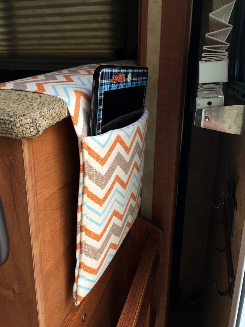 IPad Pocket Back Of Dinette Seat