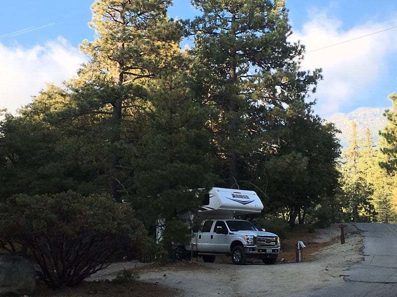 Thousand Trails campground, Idyllwild, California