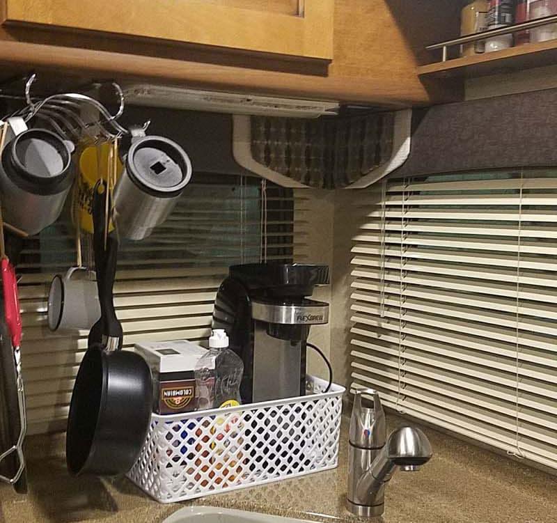 Kitchen Storage Area Hooks