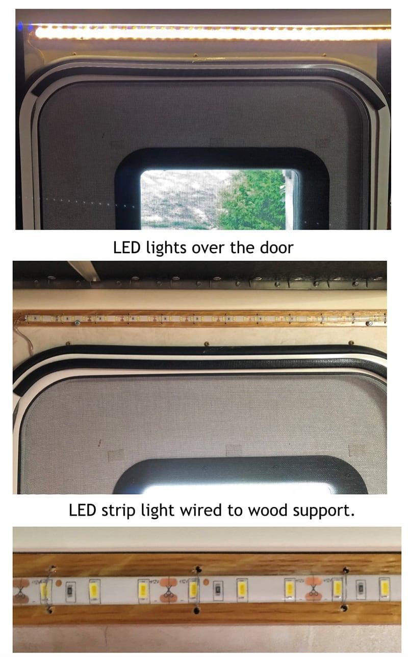 LED Lights Over Door