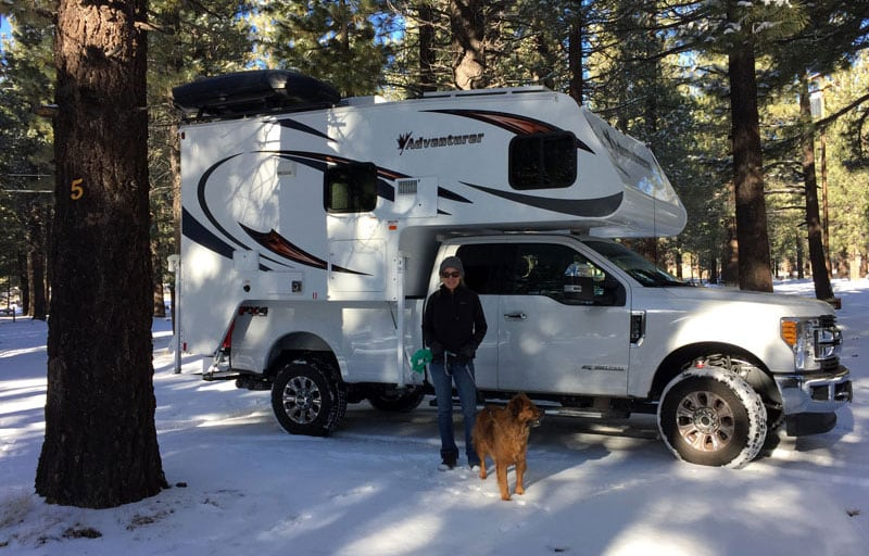 Mammoth RV Park Freezing Temps