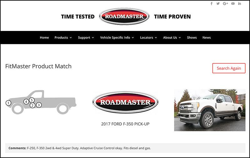 Roadmaster FitMaster