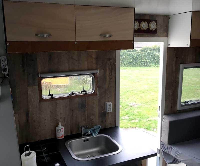 Scania Camper Kitchen