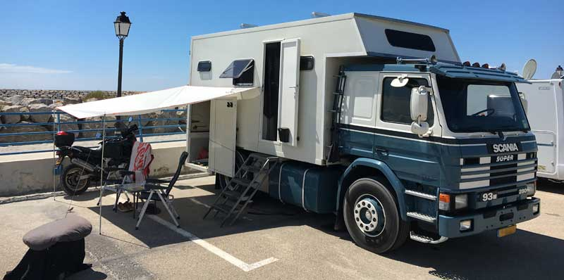 Scania Camper Awning
