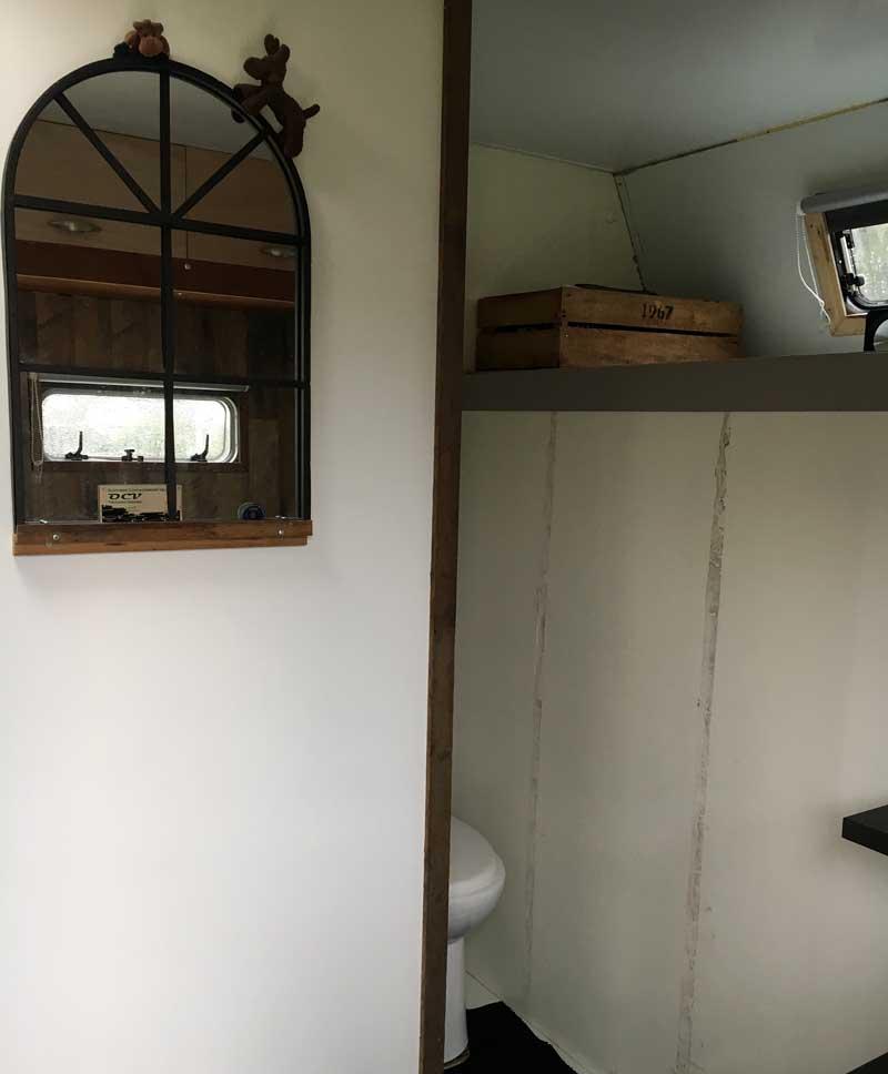 Scania Camper Bathroom