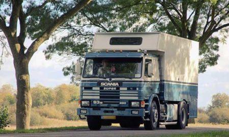 Scania Camper Demountable