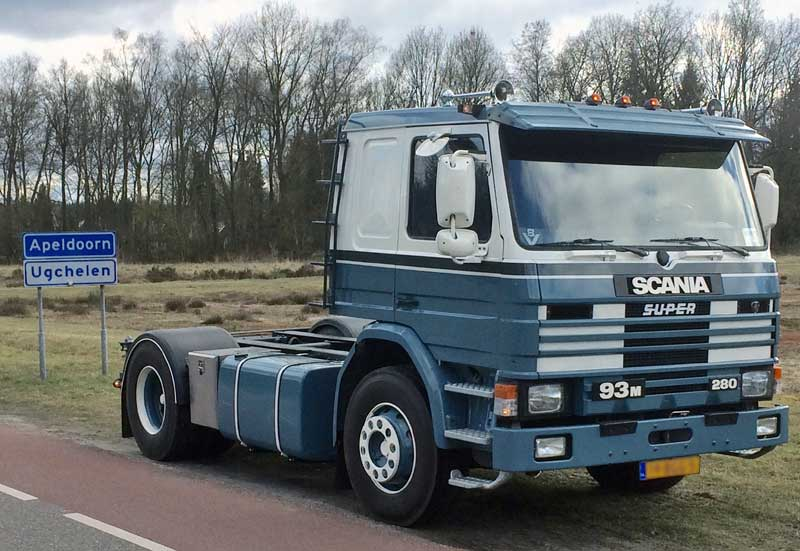 Scania Truck Chassis For Camper