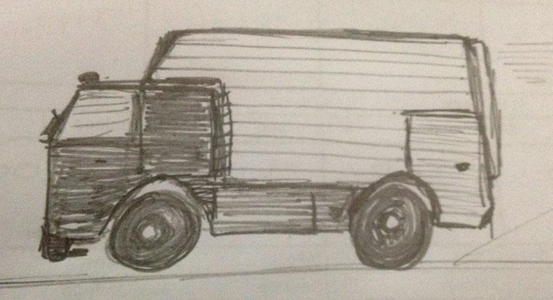 Scatia Drawing Sketches