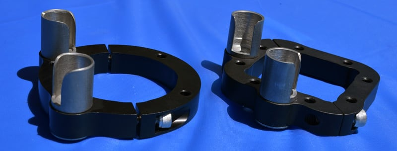 Square And Round Jack Brackets
