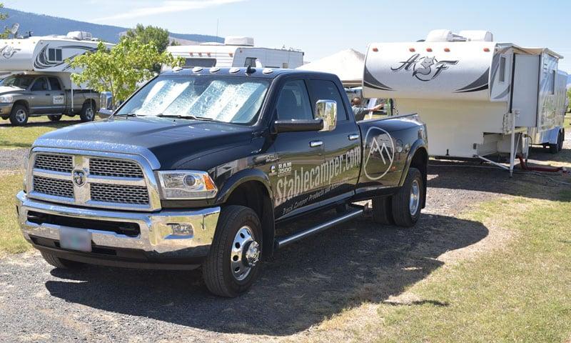 Stablecamper Truck And Camper