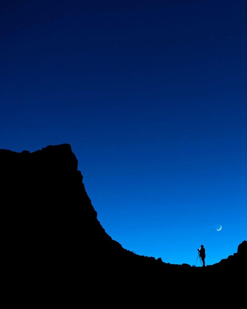 Trona Pinnacles Ridge, California
