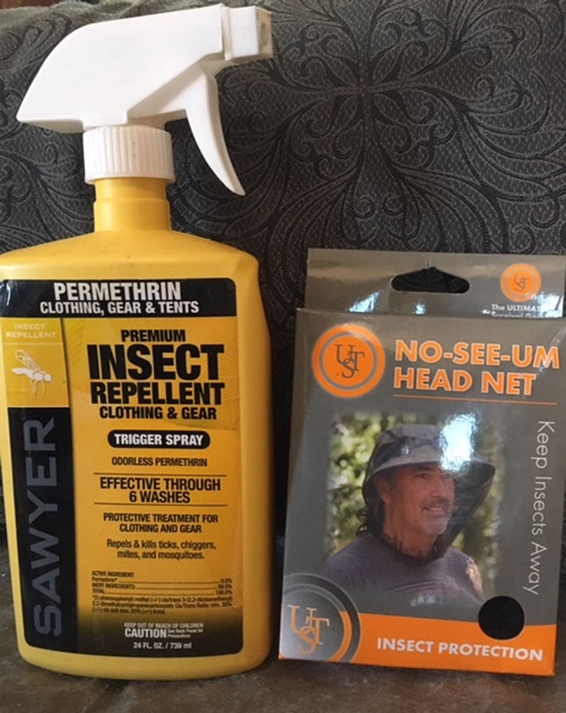 Insect Repellent And Head Net