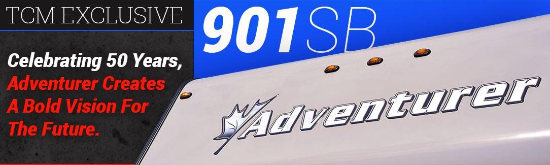 Adventurer 901SB Truck Camper