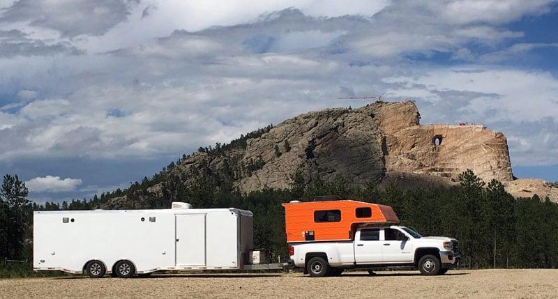 At Crazy Horse Memorial In Crazy Horse South Dakota