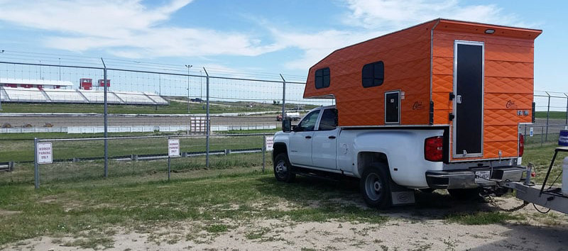 Camping Next To Southwest Speedway