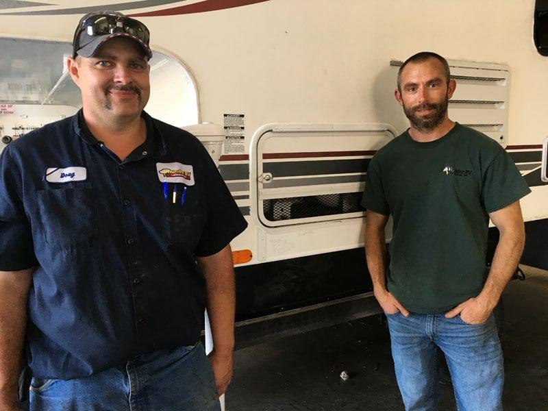 Doug And Wayne At Thunder RV