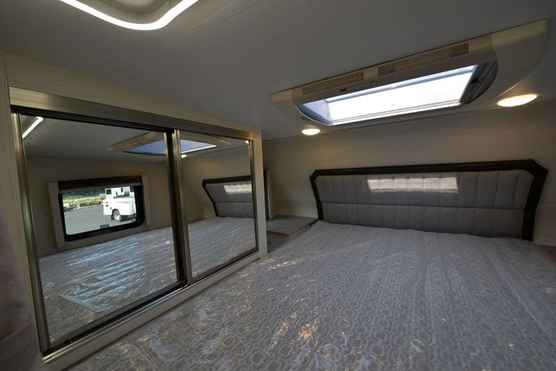 Driver Side Cabover Bedroom