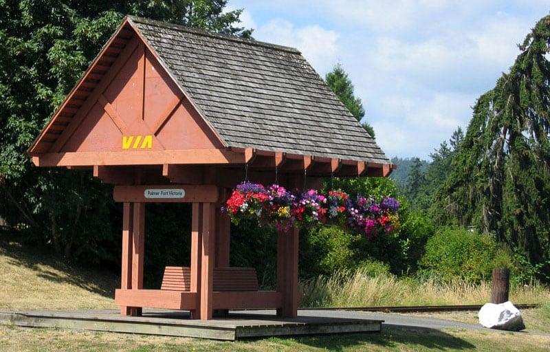 Fort Victoria RV Train Station