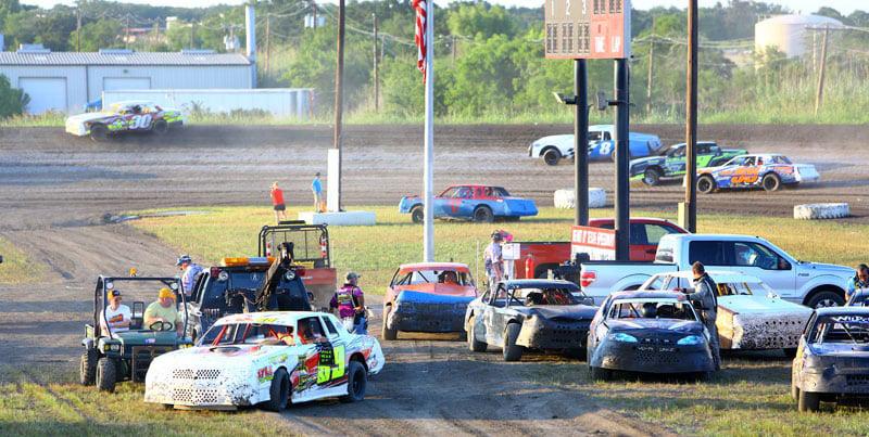 Heart O Texas Speedway Cars