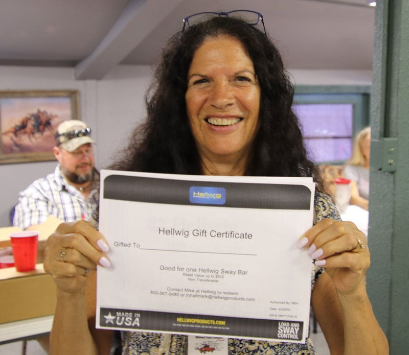 Hellwig Gift Certificate Midwest Rally