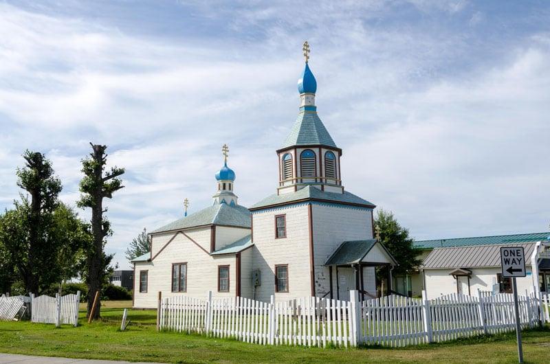 Holy Assumption Of The Virgin Mary Russian Orthodox Church, Kenai, AK