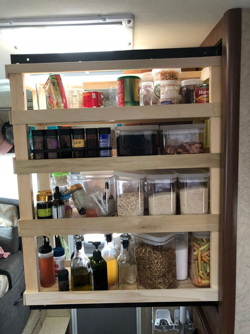 Homemade Kitchen Pantry Food