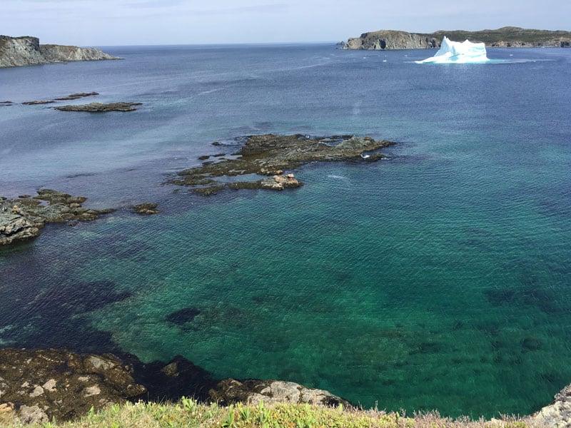 Iceberg In Twillingate Newfoundland