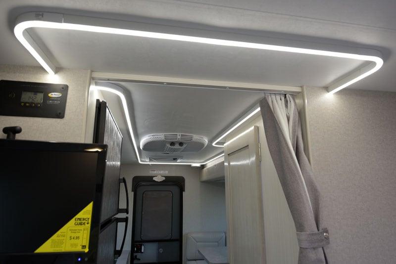 LED Lighting Strip On Ceiling