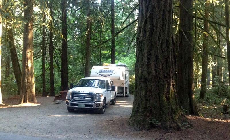 Lance Camper Vancouver Island