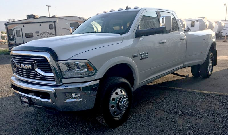 New Ram 3500 Truck With Limited Grille