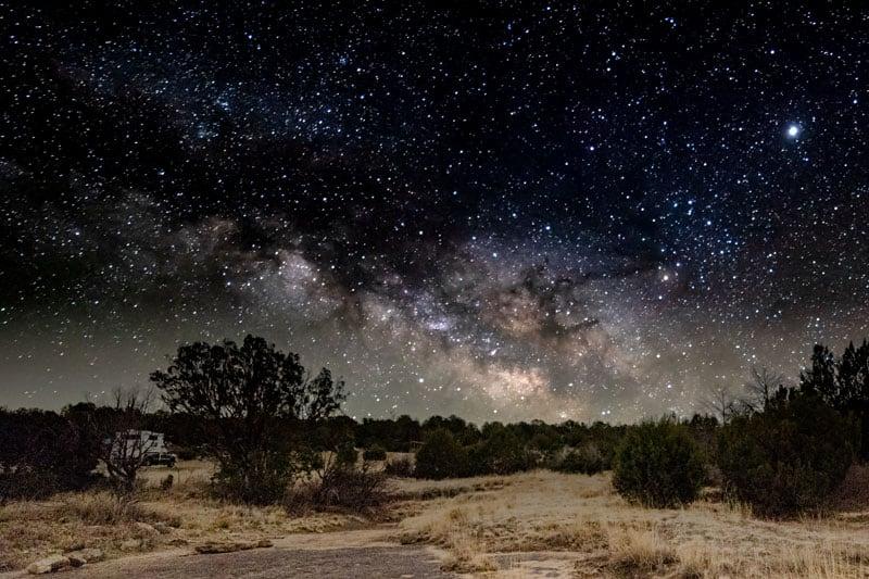 Night Sky Northstar Camper