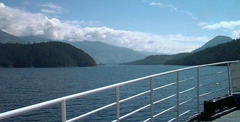 Sailing Through The Island